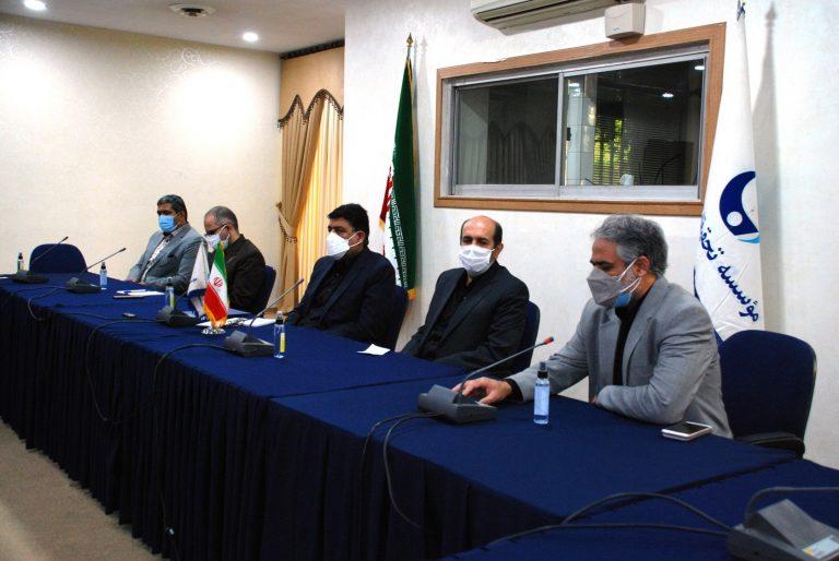جلسه تودیع و معارفه رئیس اداره حراست و امور محرمانه موسسه تحقیقات آب برگزار شد