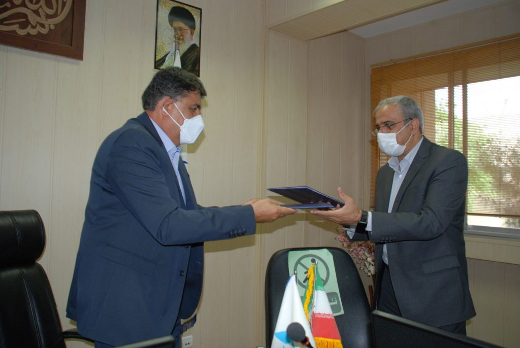 Concluding a Memorandum of Understanding between the Water Research Institute and the Tehran Disaster Mitigation and Management Center (TDMMC)