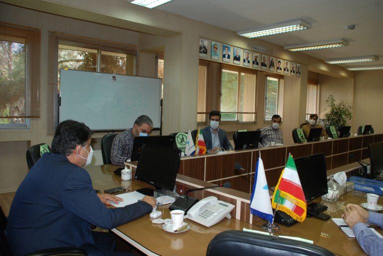 برگزاری اولین جلسه شورای فرهنگی موسسه تحقیقات آب در سال 1400